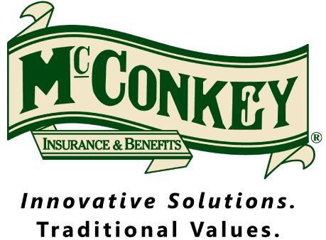 McConkey Insurance & Benefits Sponsor Logo